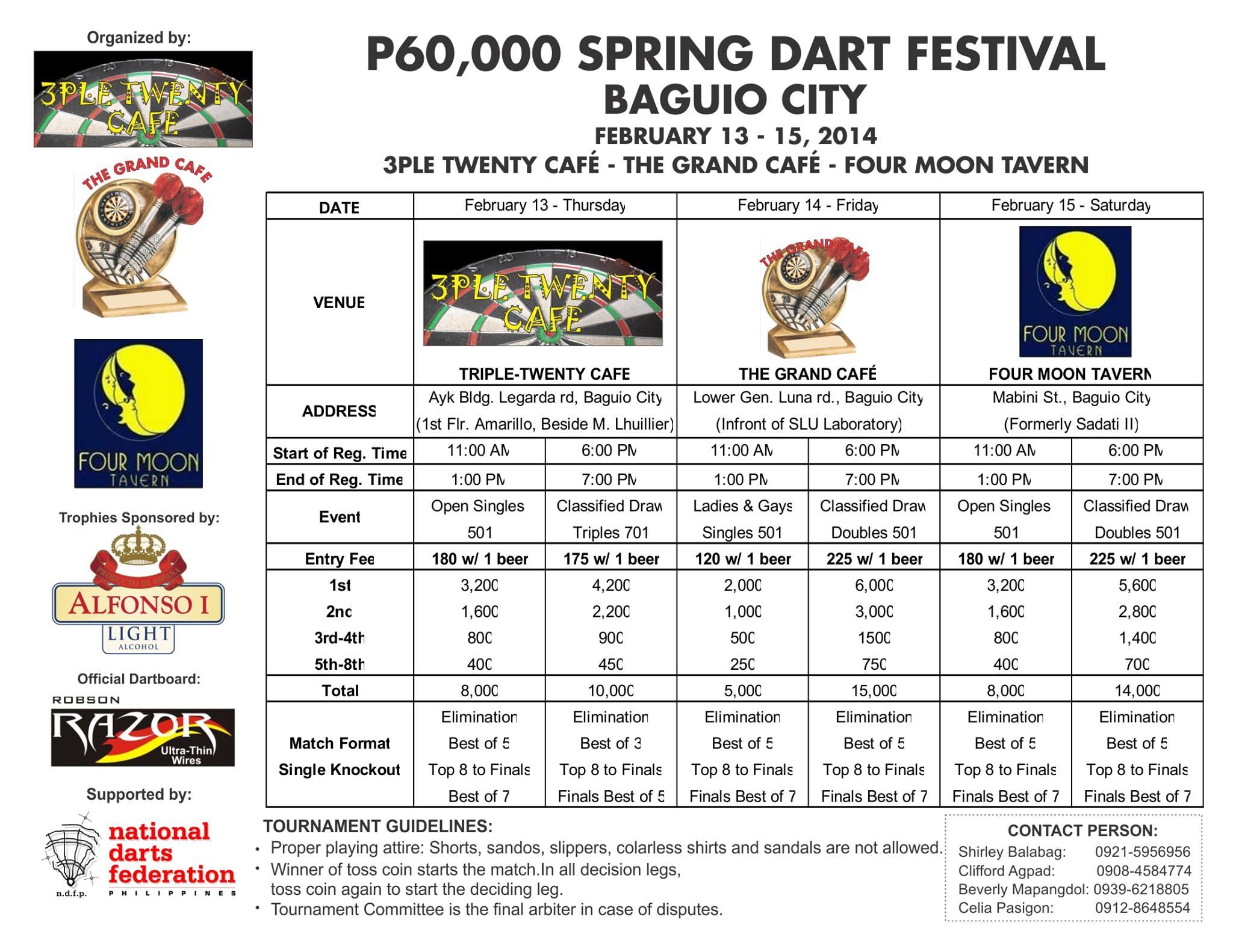 Spring Dart Festival Baguio City