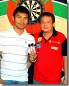 Manny Pacquiao & NDFP President Tito Soncuya